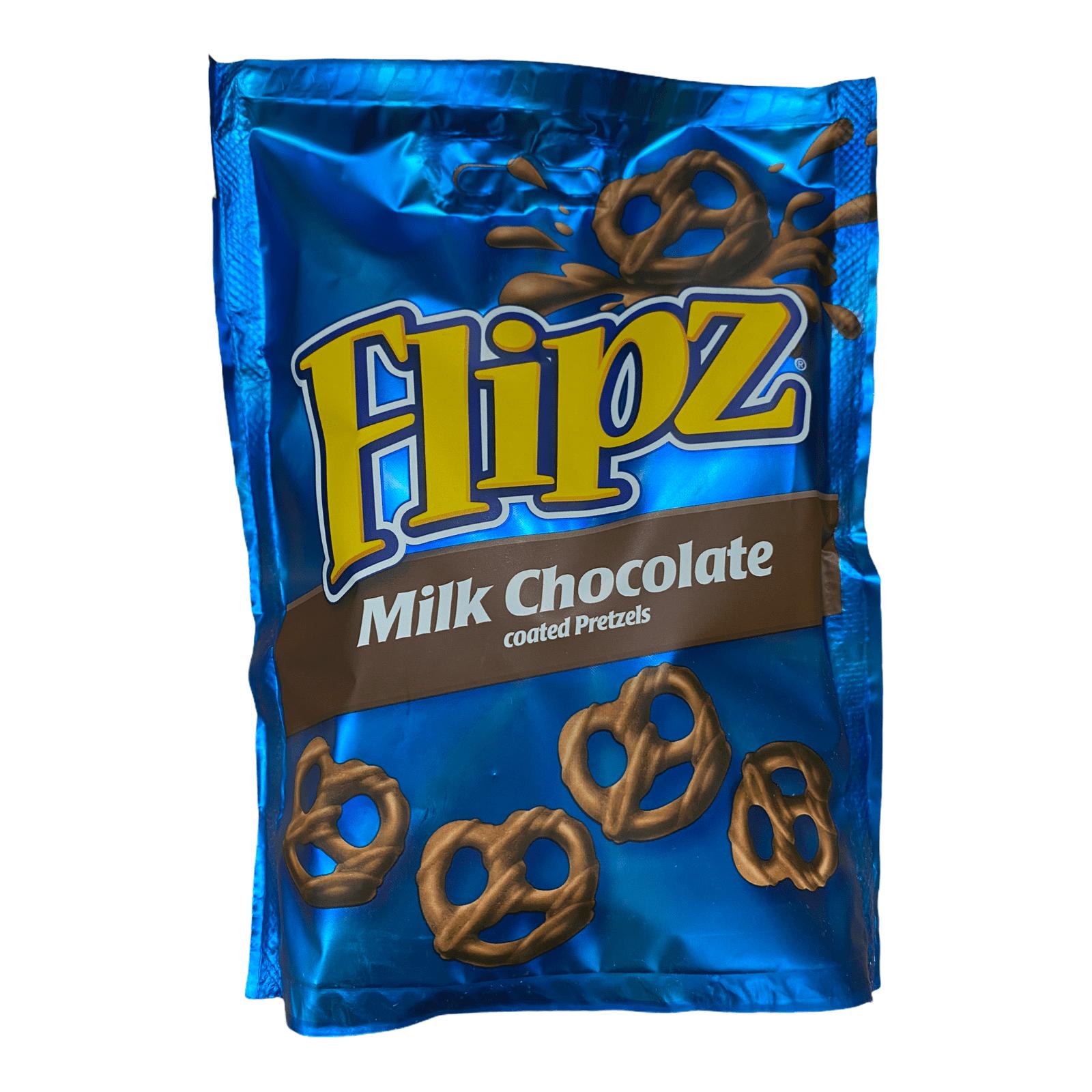 Flipz Milk Chocolate - Brezeln mit Milchschokoladen-Überzug - 90g