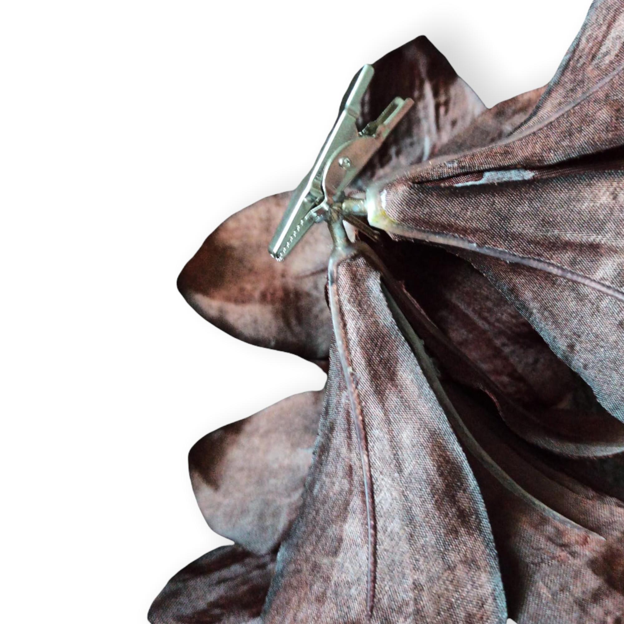 Blume mit Clip