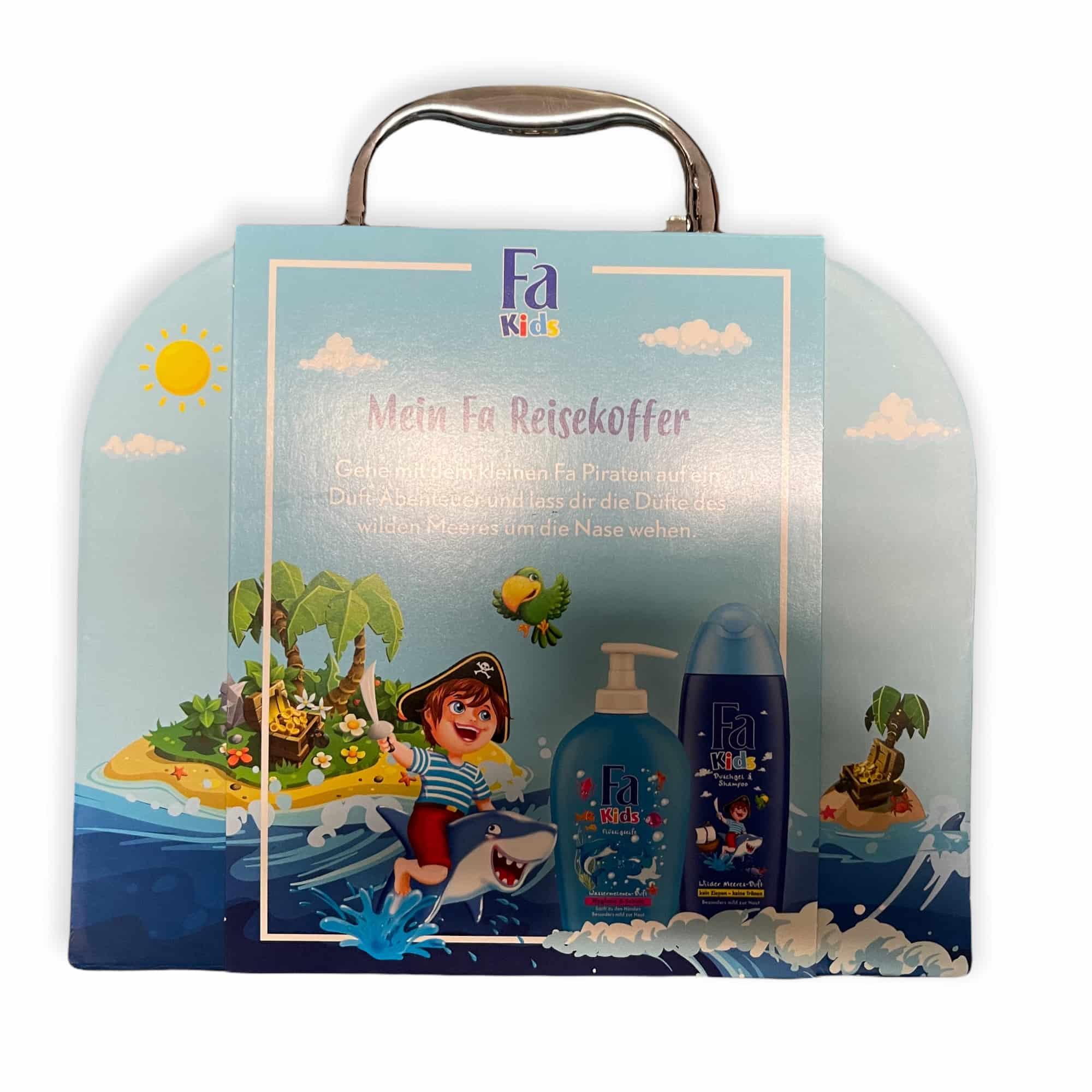 Fa Kids Koffer 2in1 - Pirat - 500 ml