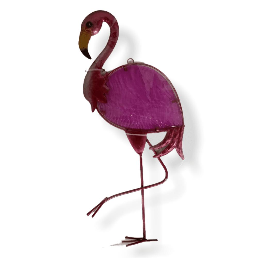Metall-Wanddekoration Flamingo - klein