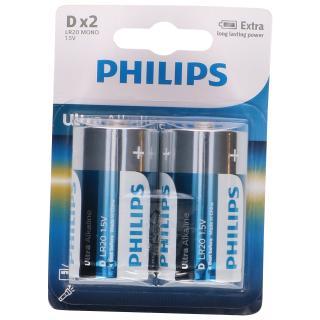 "2er-Set Ultra Alkaline Typ ""D"" / ""LR20 Mono"""