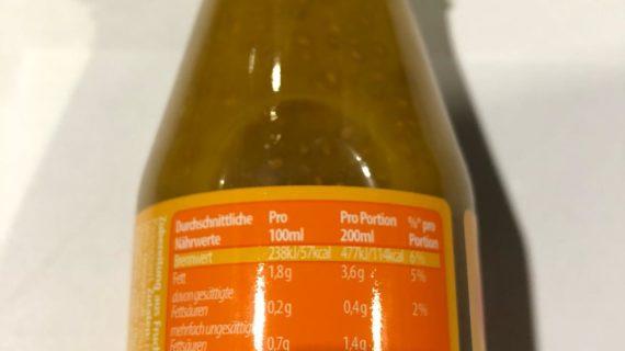 NutriPur Chia Drink Mango&Maracuja 200ml
