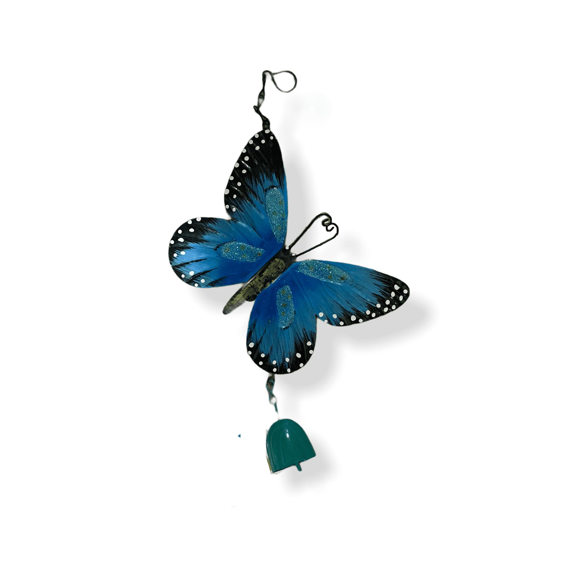 Gartenhänger Schmetterling  blau