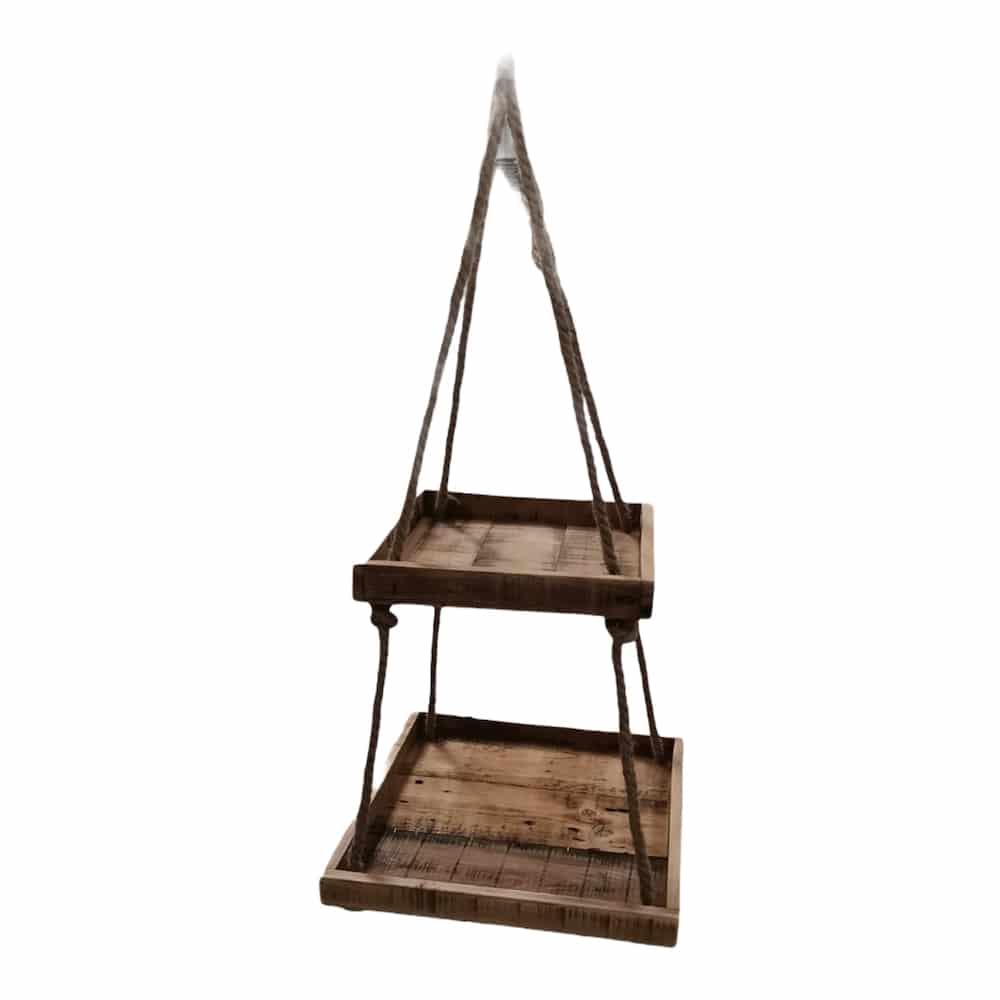 Hänge-Etagere aus Holz