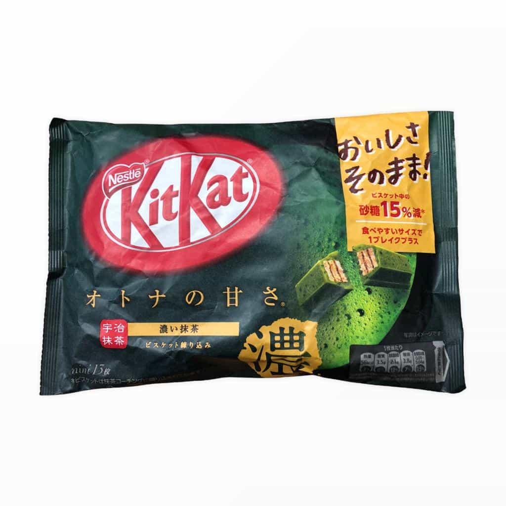 13er Packung KitKat Green Tea Matcha Powdered Mini 135,8g