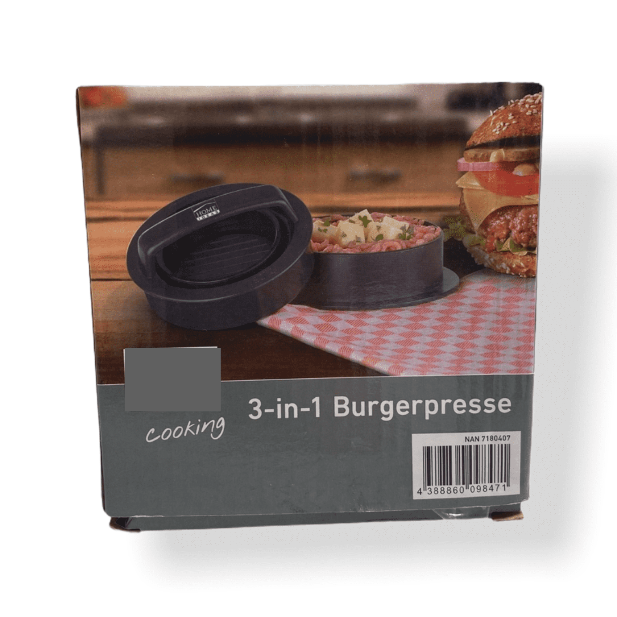Burgerpresse 3in1