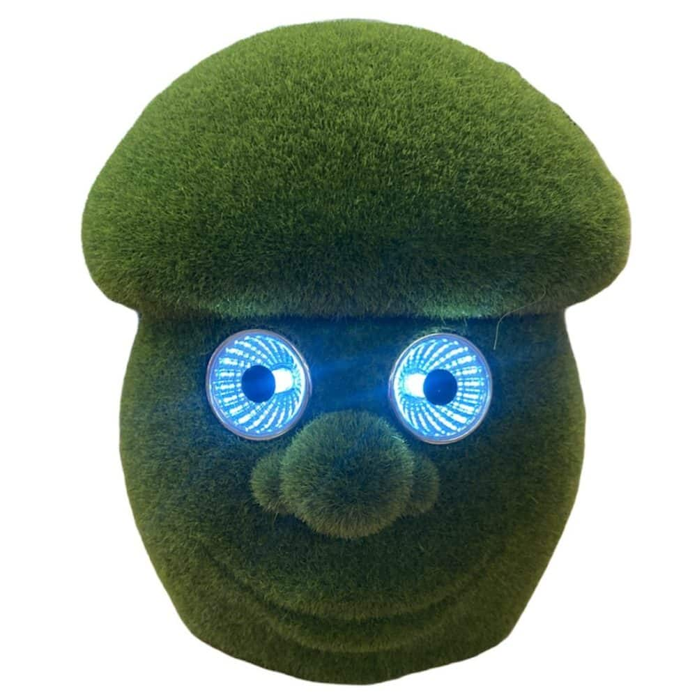 Solar Pilz mit LED-Augen