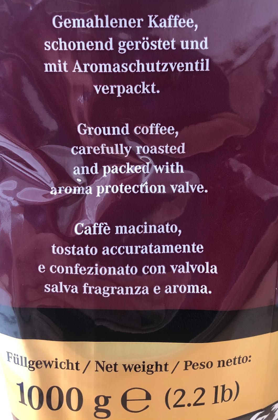Mentor gemahlener Röstkaffee Casino Royal schonend geröstet