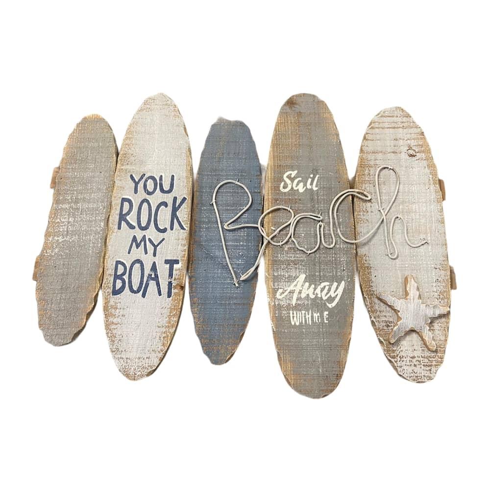 """Wandschmuck """"You rock my boat"""""""