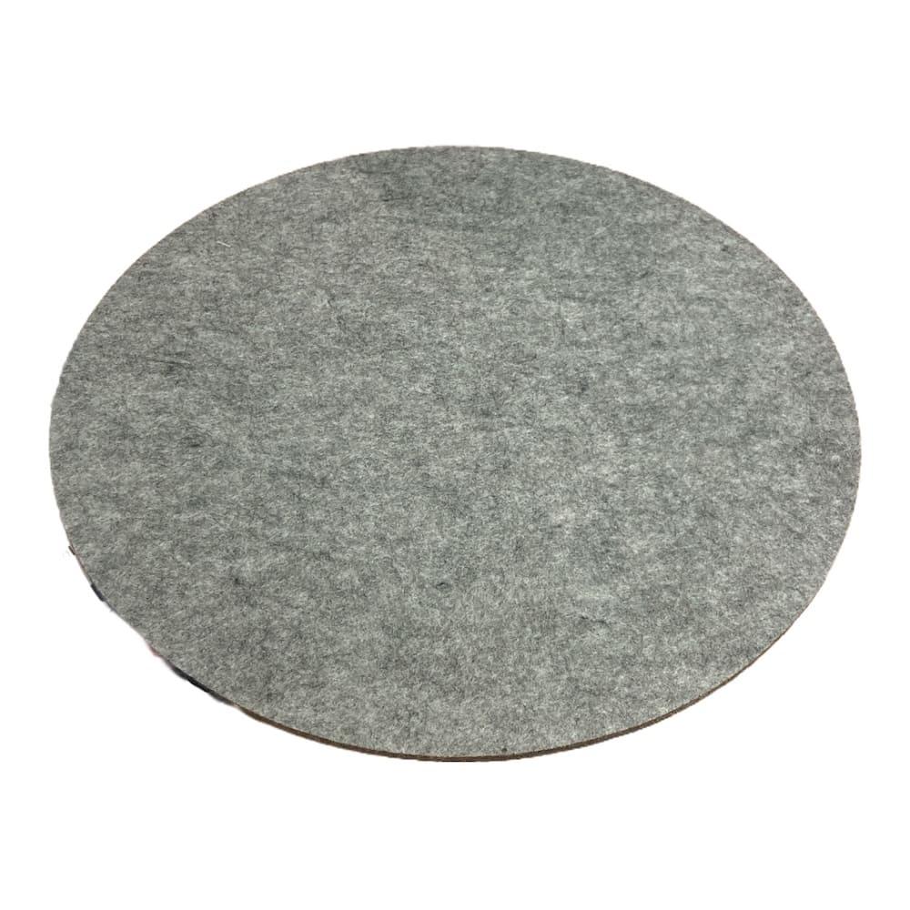 Platzset aus Filz grau