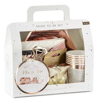 """60er Dekorations-Box """"Bride to be"""""""