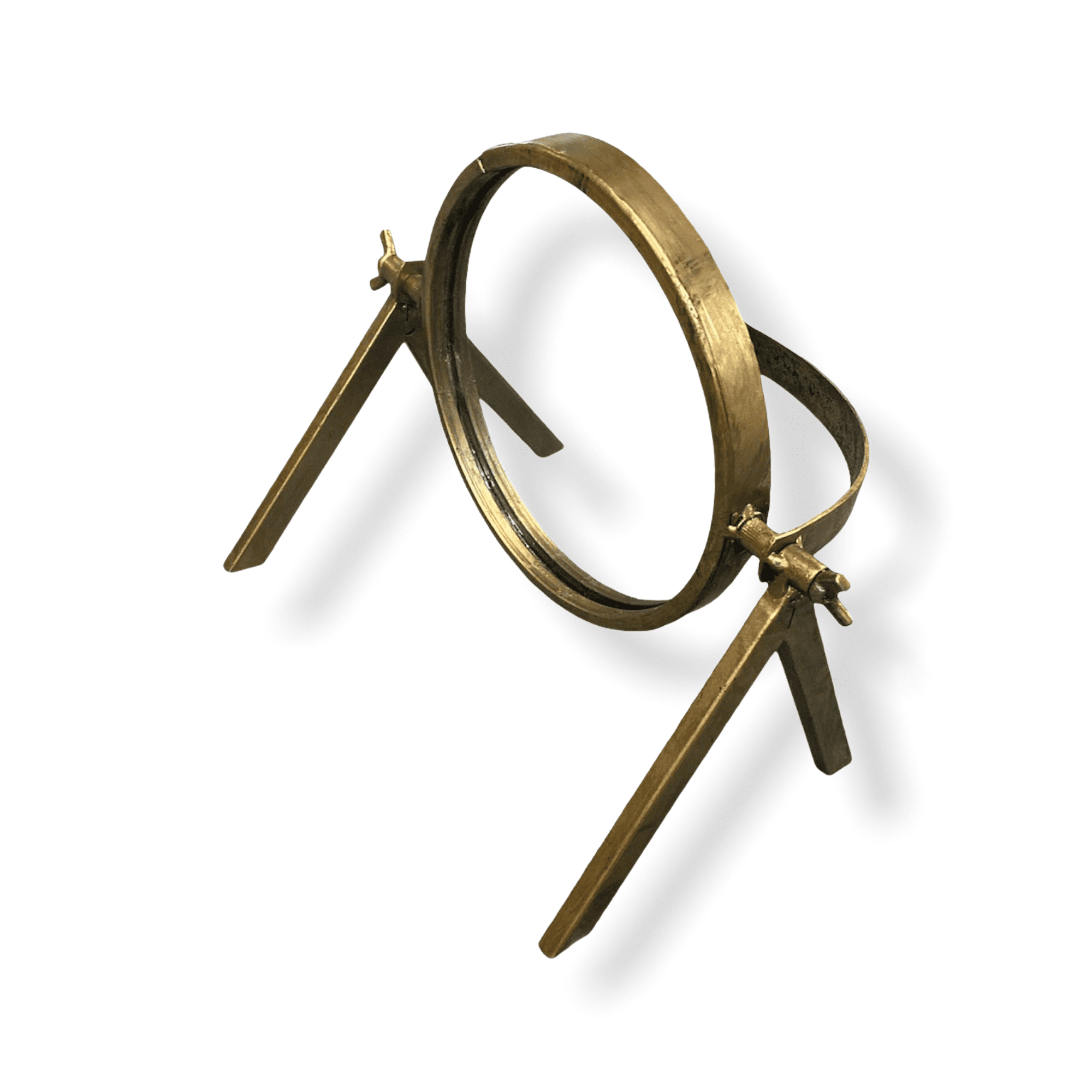 Tisch-Spiegel gold