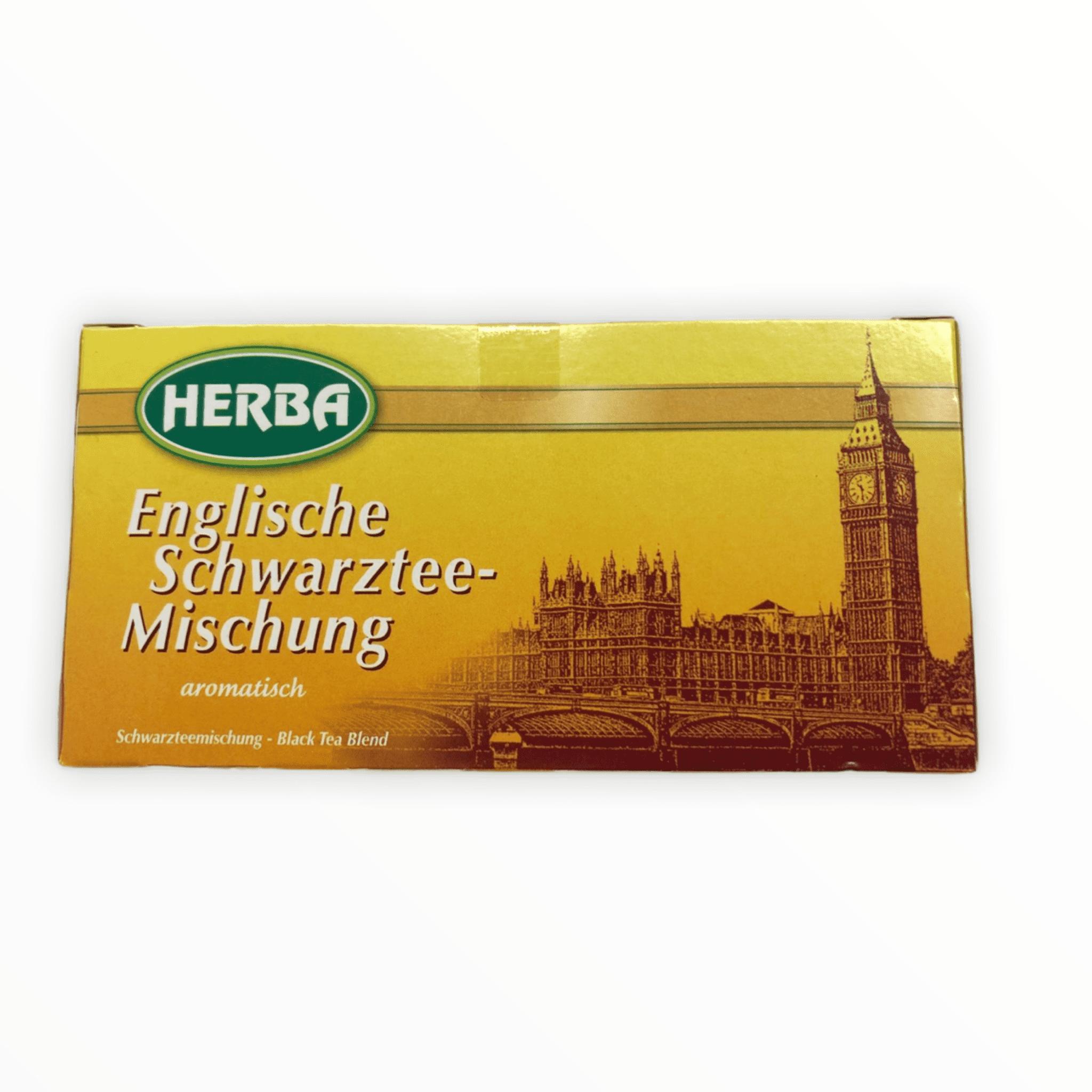 20er Packung Herba Tee Englischer Schwarztee  30g