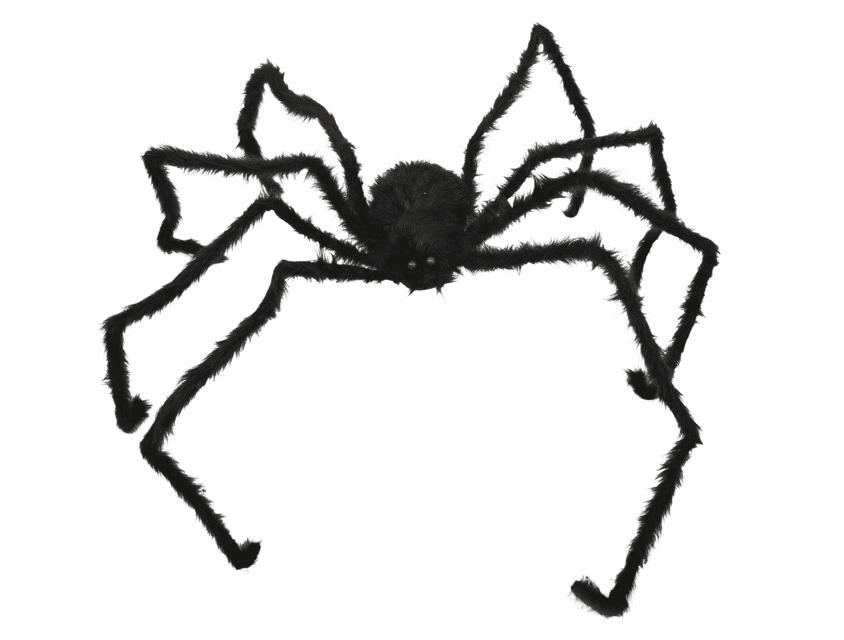 Schwarze XXL-Spinne 250 cm