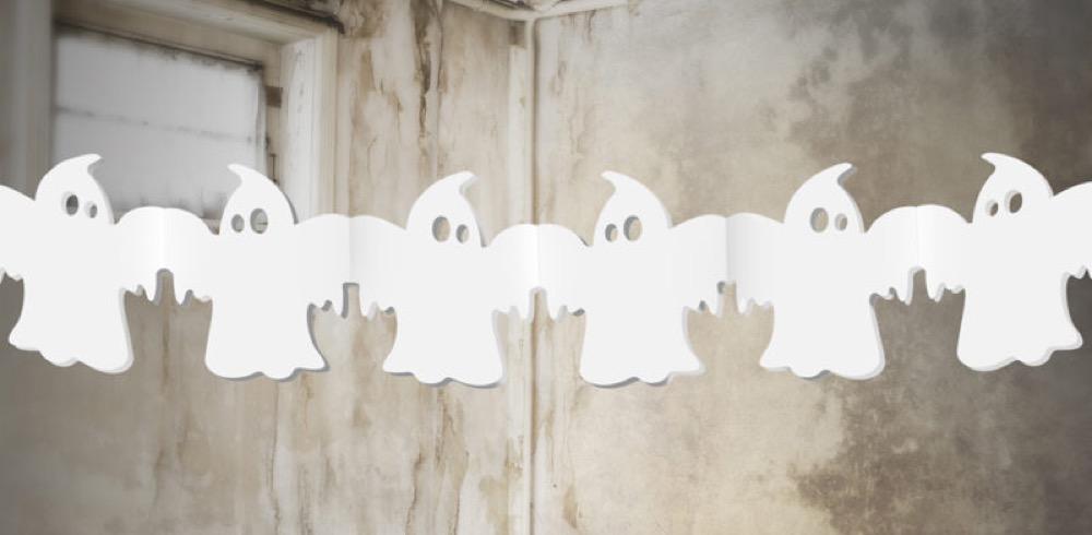 Geister-Papiergirlande