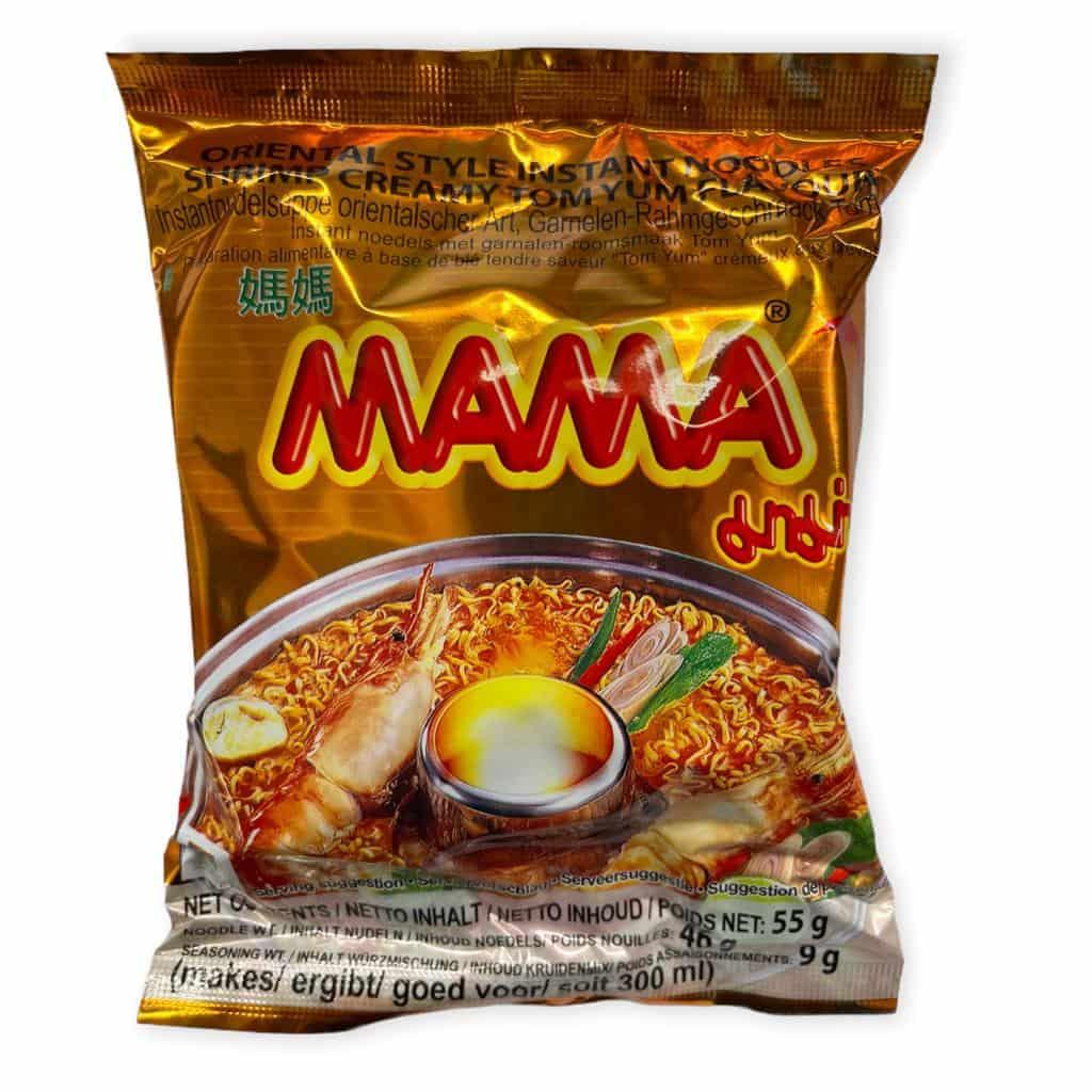 MAMA Instantnudeln Creamy Tom Yum/Shrimp Geschmack 55g