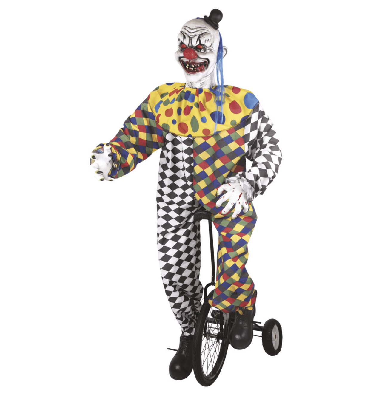Clown auf Rad 175 cm