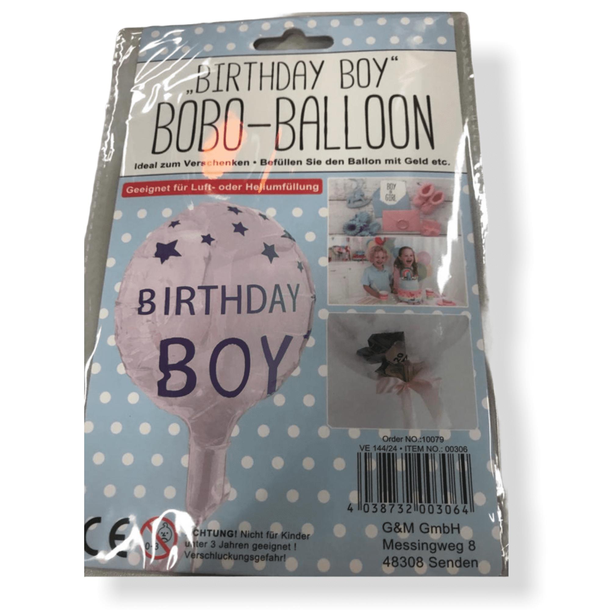 """Bobo-Ballon """"Birthday Boy"""""""