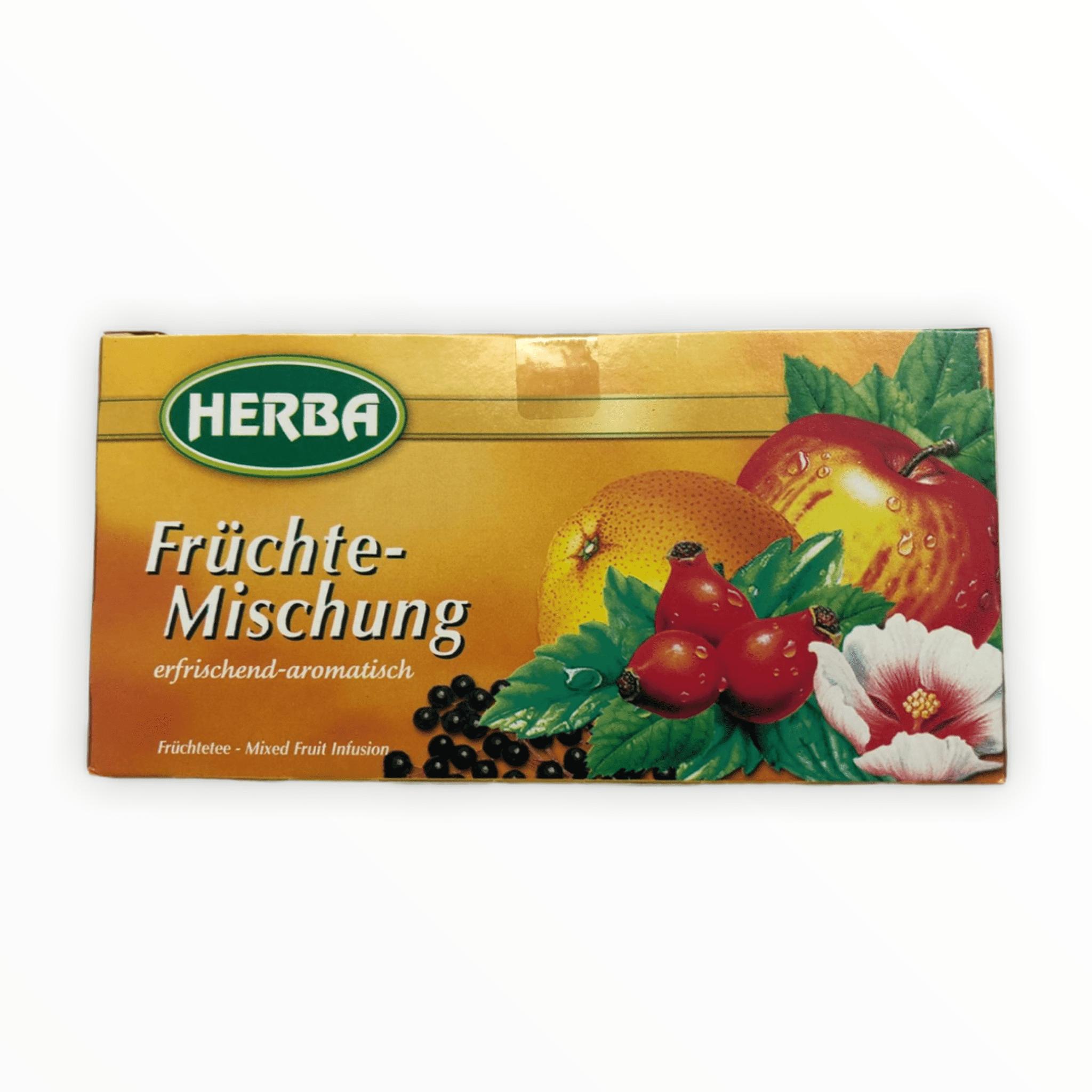 20er Packung Herba Tee Früchte-Mischung 40g