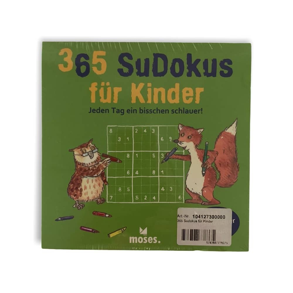 365 Sudoku für Kinder