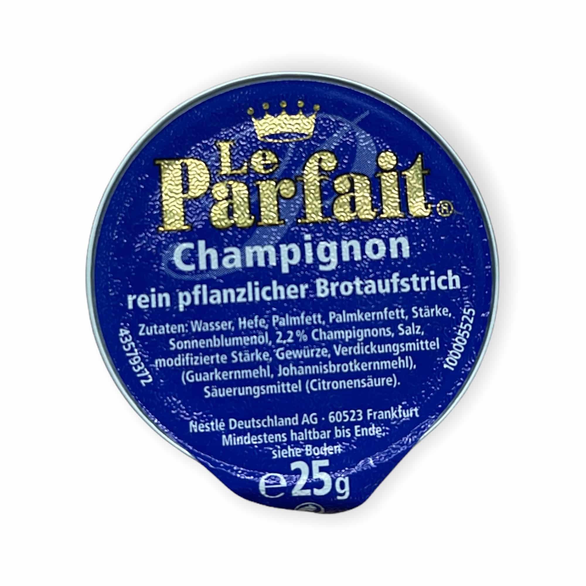 120er Brotaufstrich Le Parfait Champignon 120x25 g