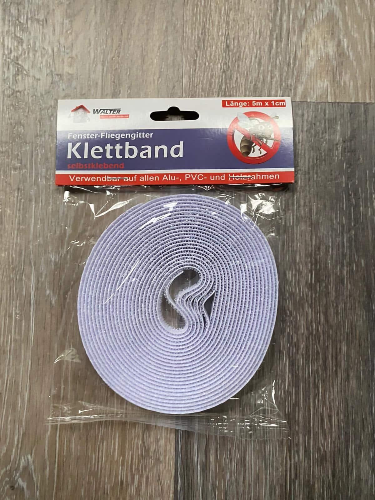 Klettband für Fenster-Fliegengitter
