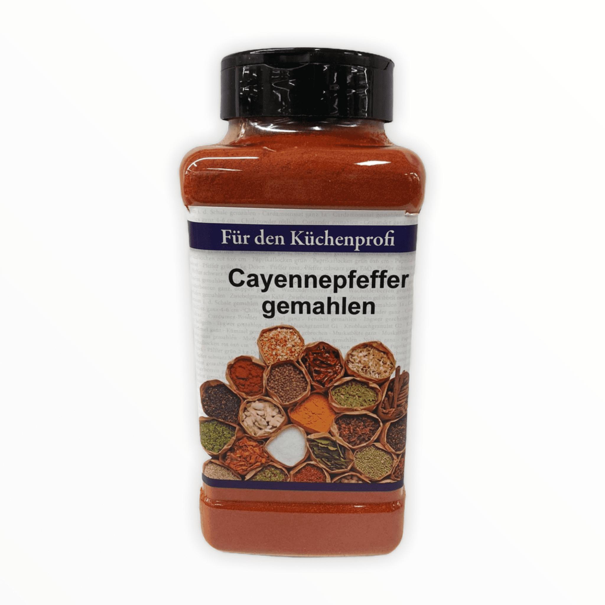 Cayennepfeffer gemahlen 500g