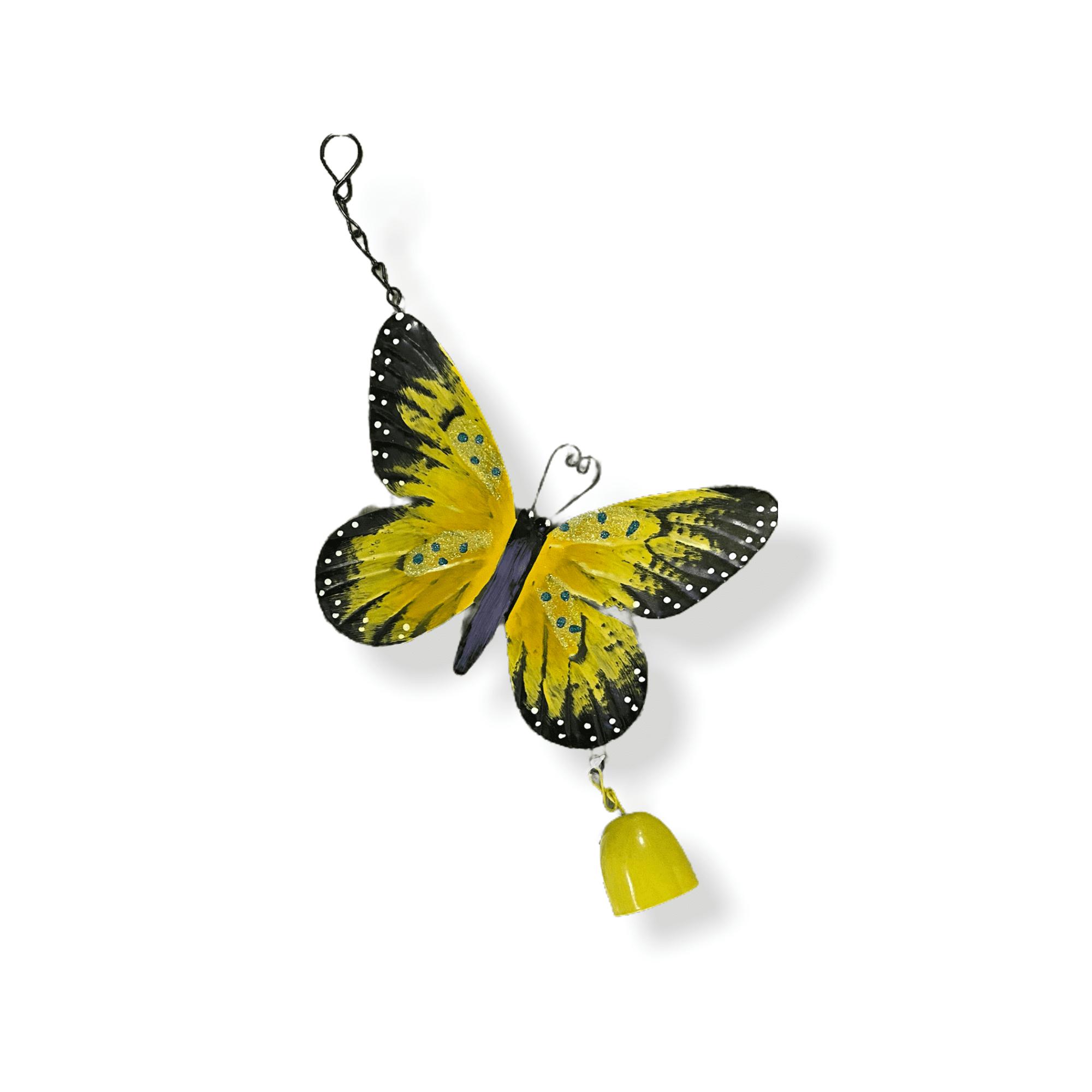 Gartenhänger Schmetterling  gelb