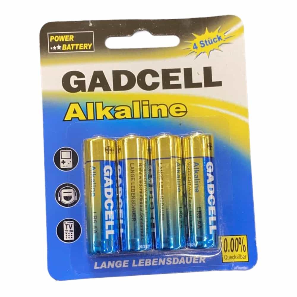 4er-Pack Batterien AA