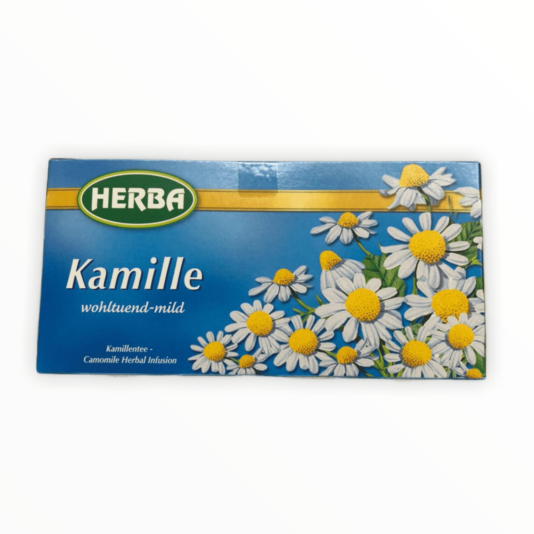 20er Packung Herba Tee Kamille 25g