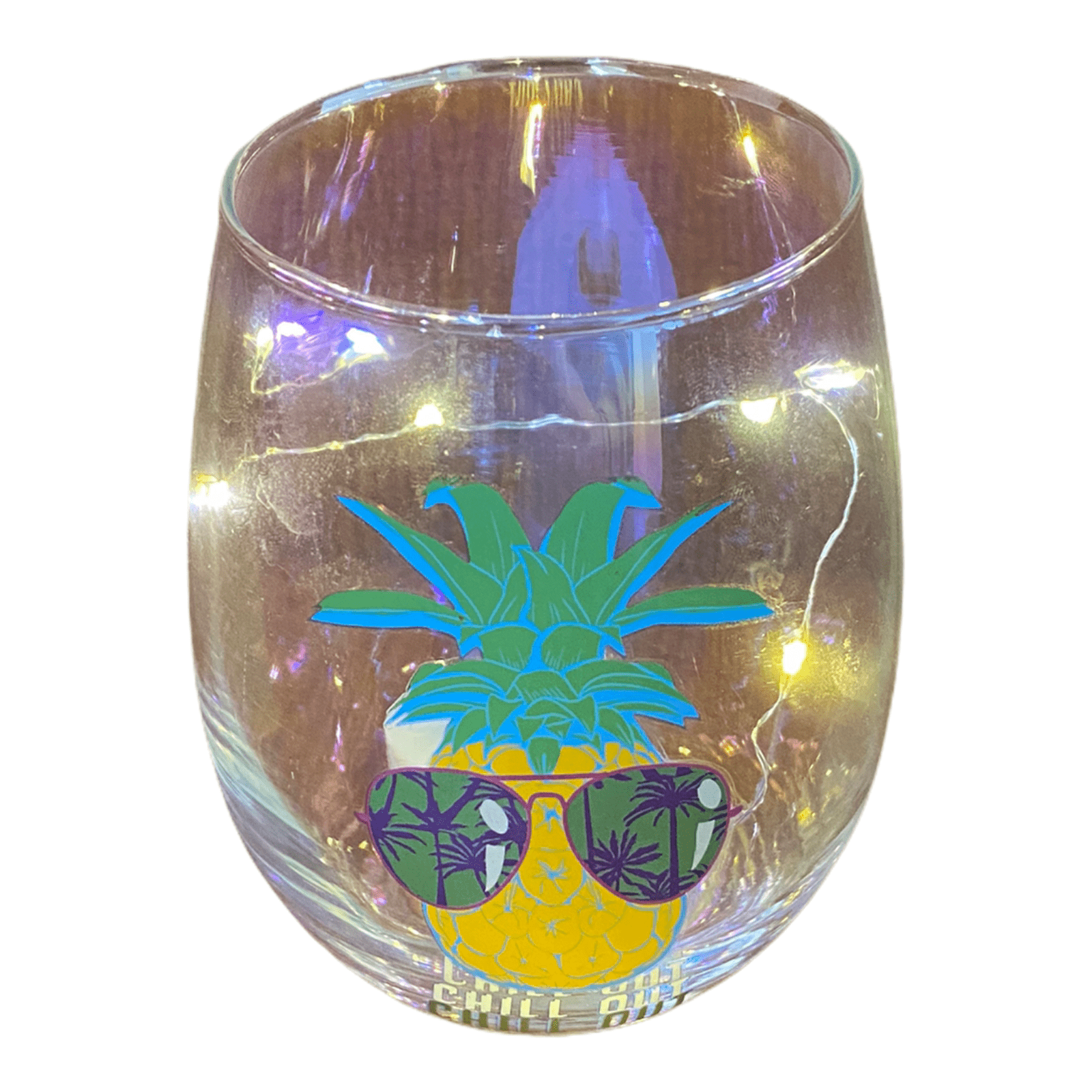LED-Glas Caribe ChillOut