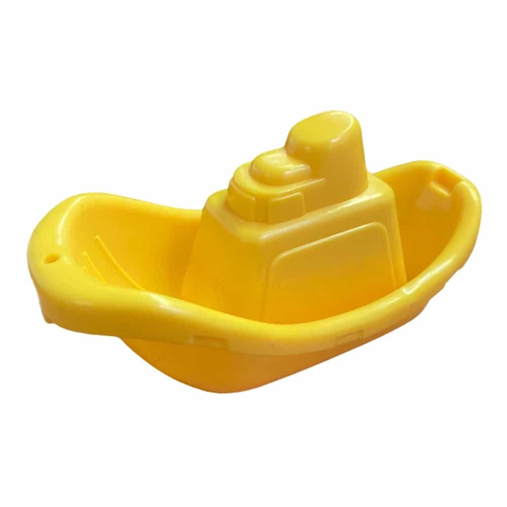 Spielzeug-Schiffchen