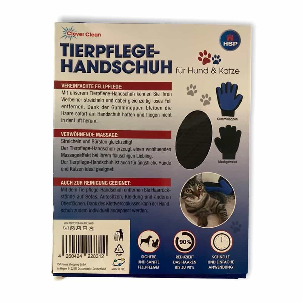 Tierpflege-Handschuh