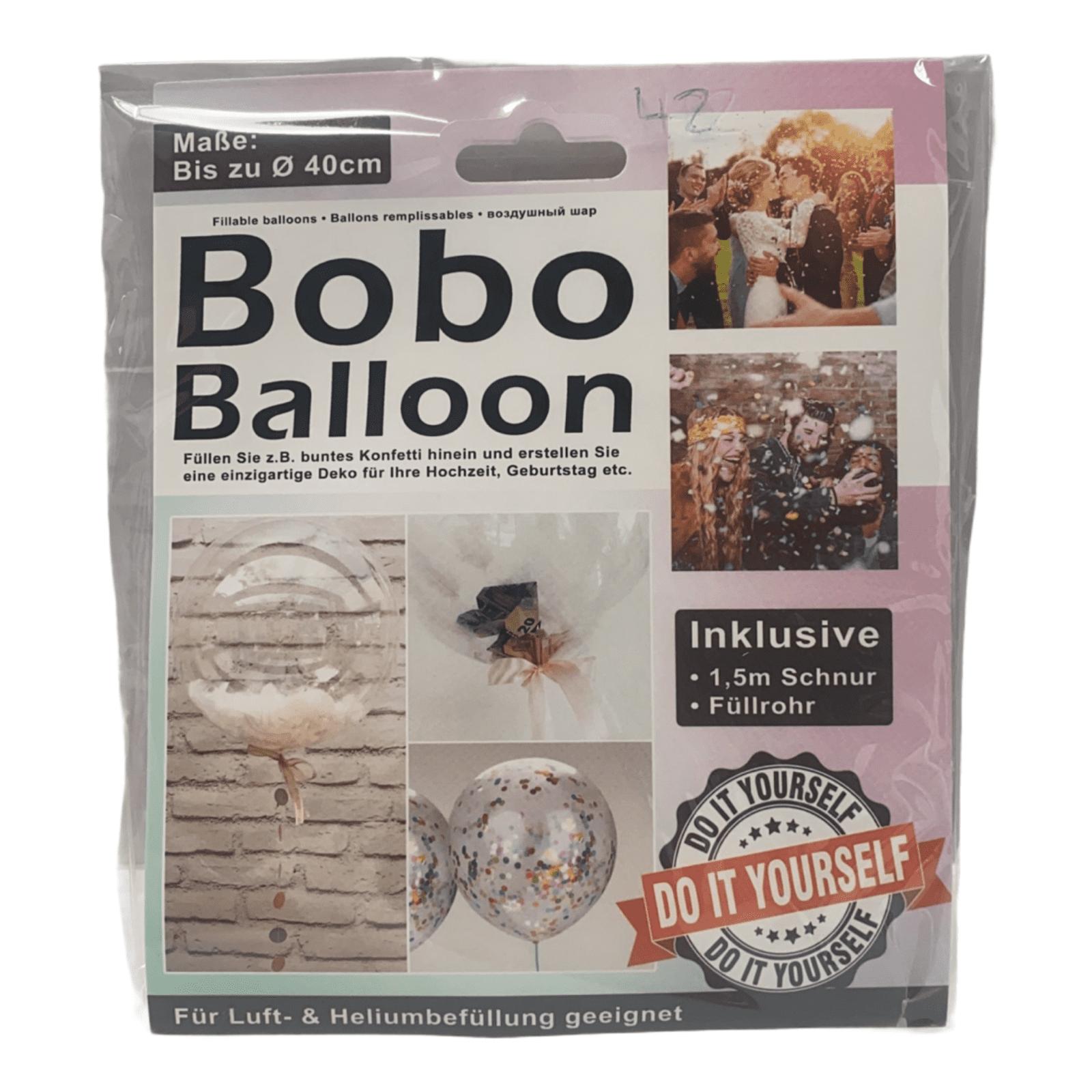 DIY Bobo-Ballon zum Befüllen