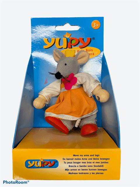 Yupy Figur Maus mit Kleid