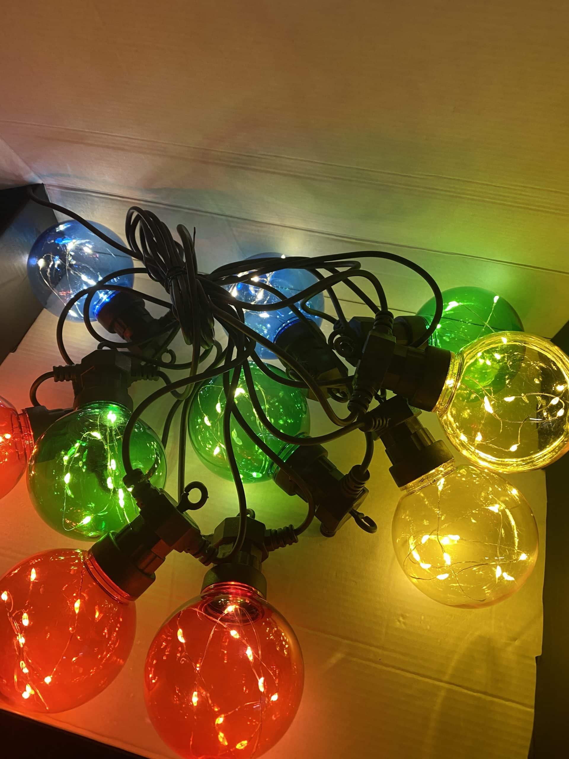 "LED-Outdoorlichterkette ""Lightbulbs XL"""