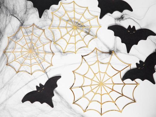3er-Set Spinnennetze