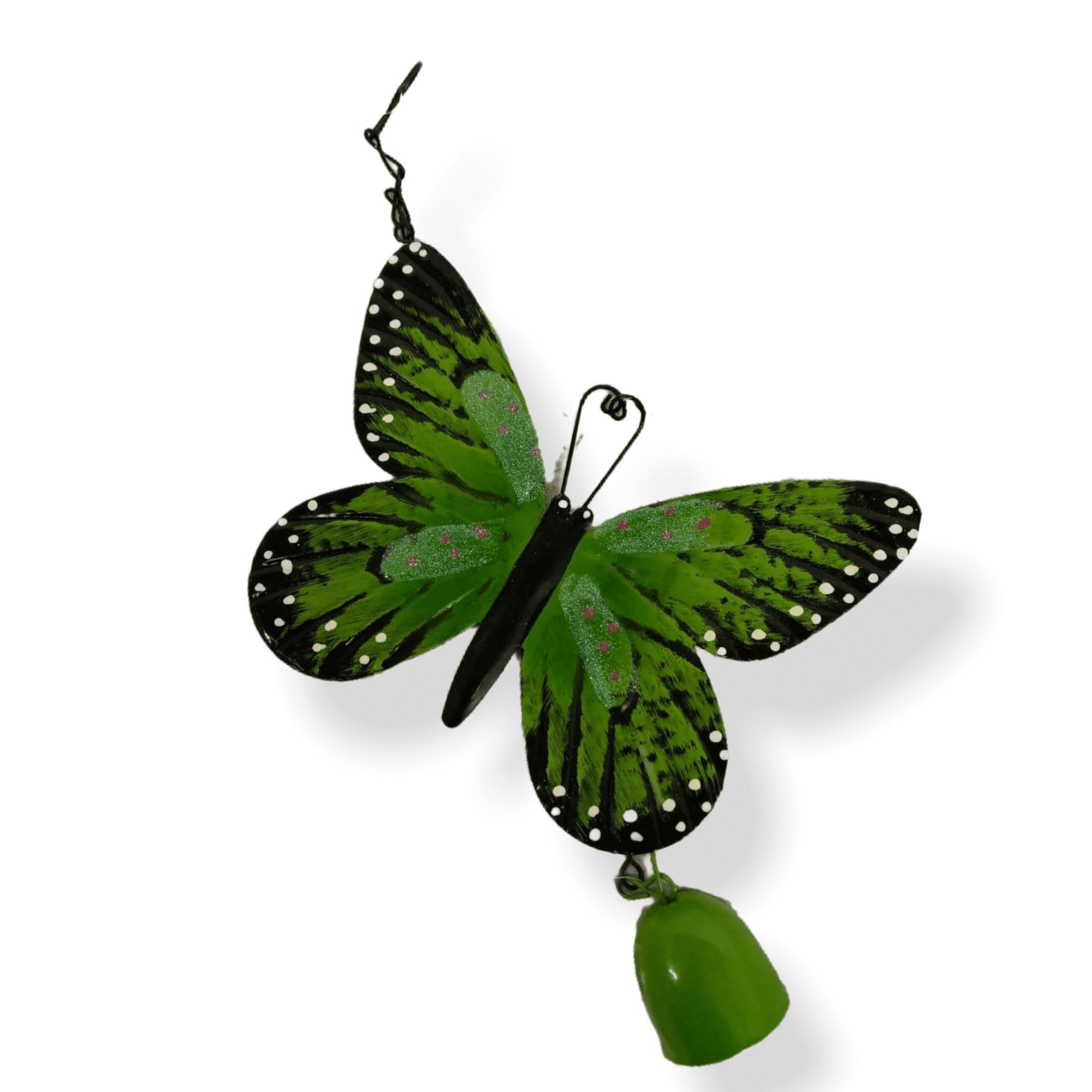 Gartenhänger Schmetterling grün
