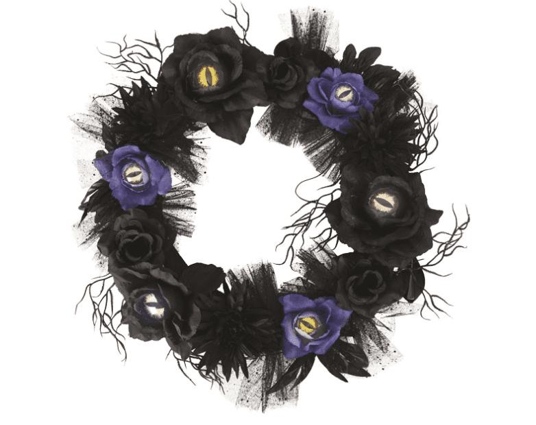 Blumenkranz mit Augen