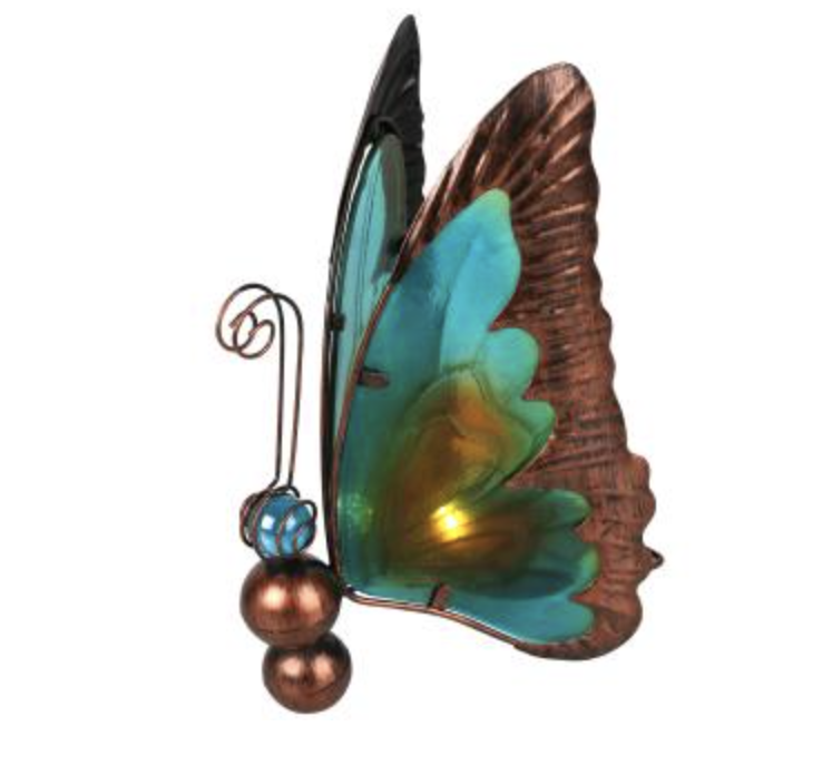LED-Solar Schmetterling