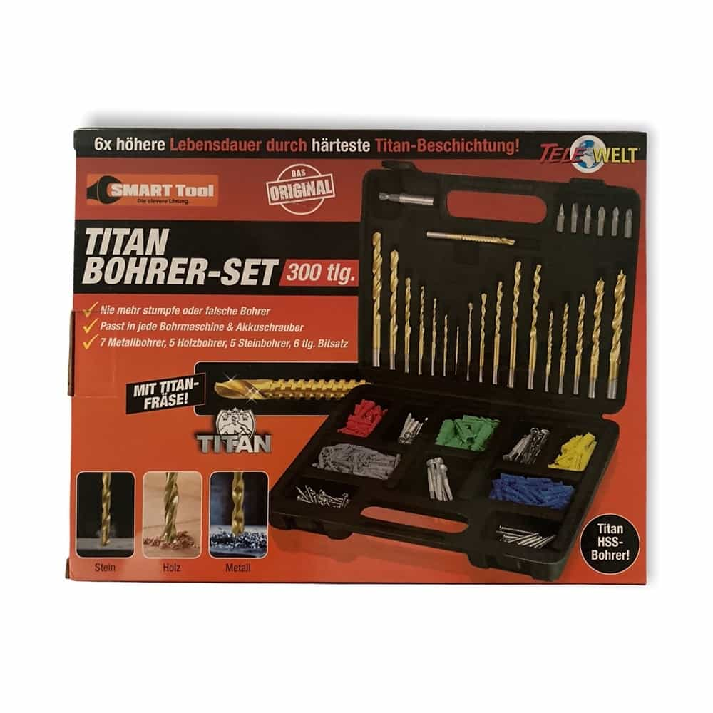 Titan Bohrer-Set