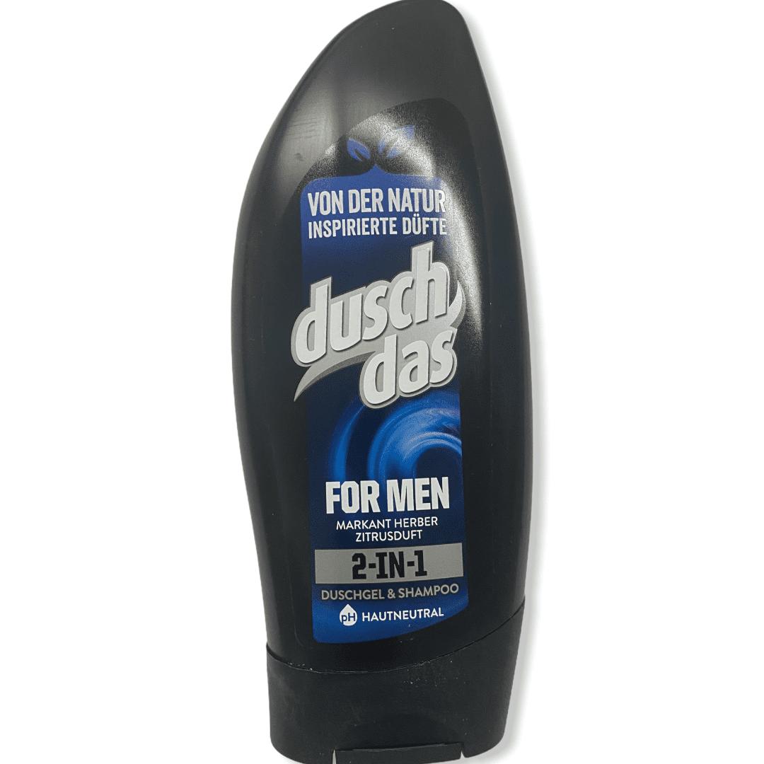 DuschDas 2in1 - Duschgel & Shampoo - For Men - 250 ml