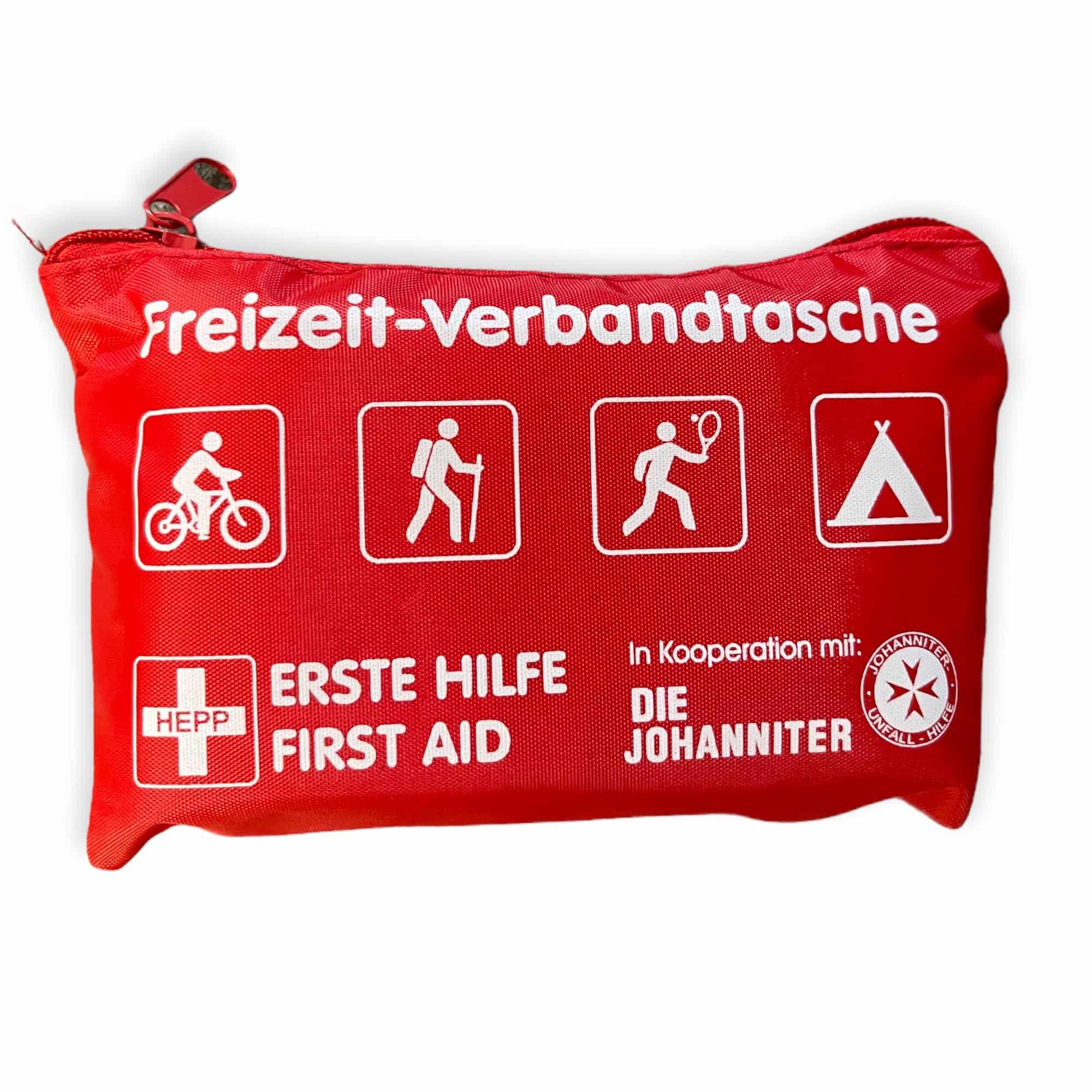 Freizeit-Verbandtasche - rot