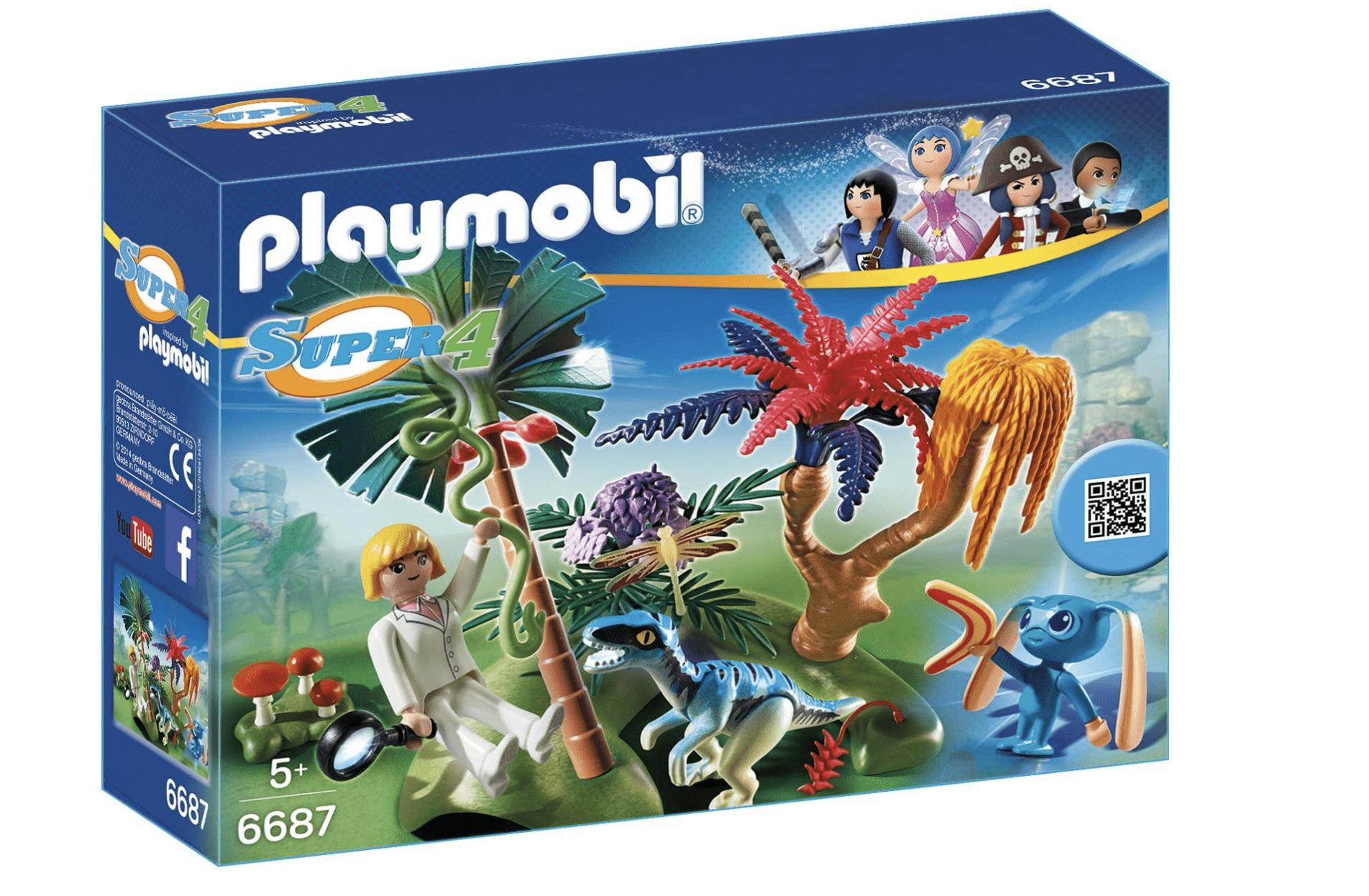 Playmobil Super4 - Lost Island