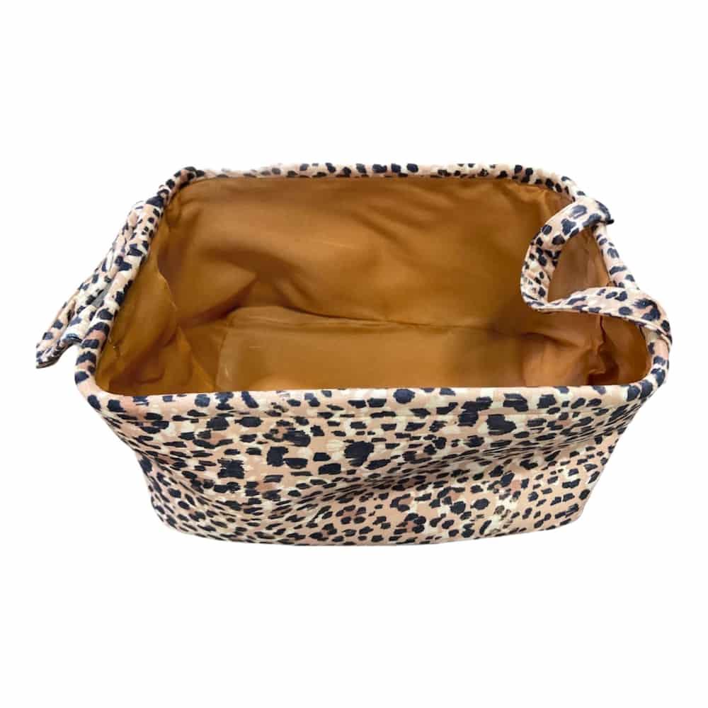 Aufbewahrungsbox Leopard-Design