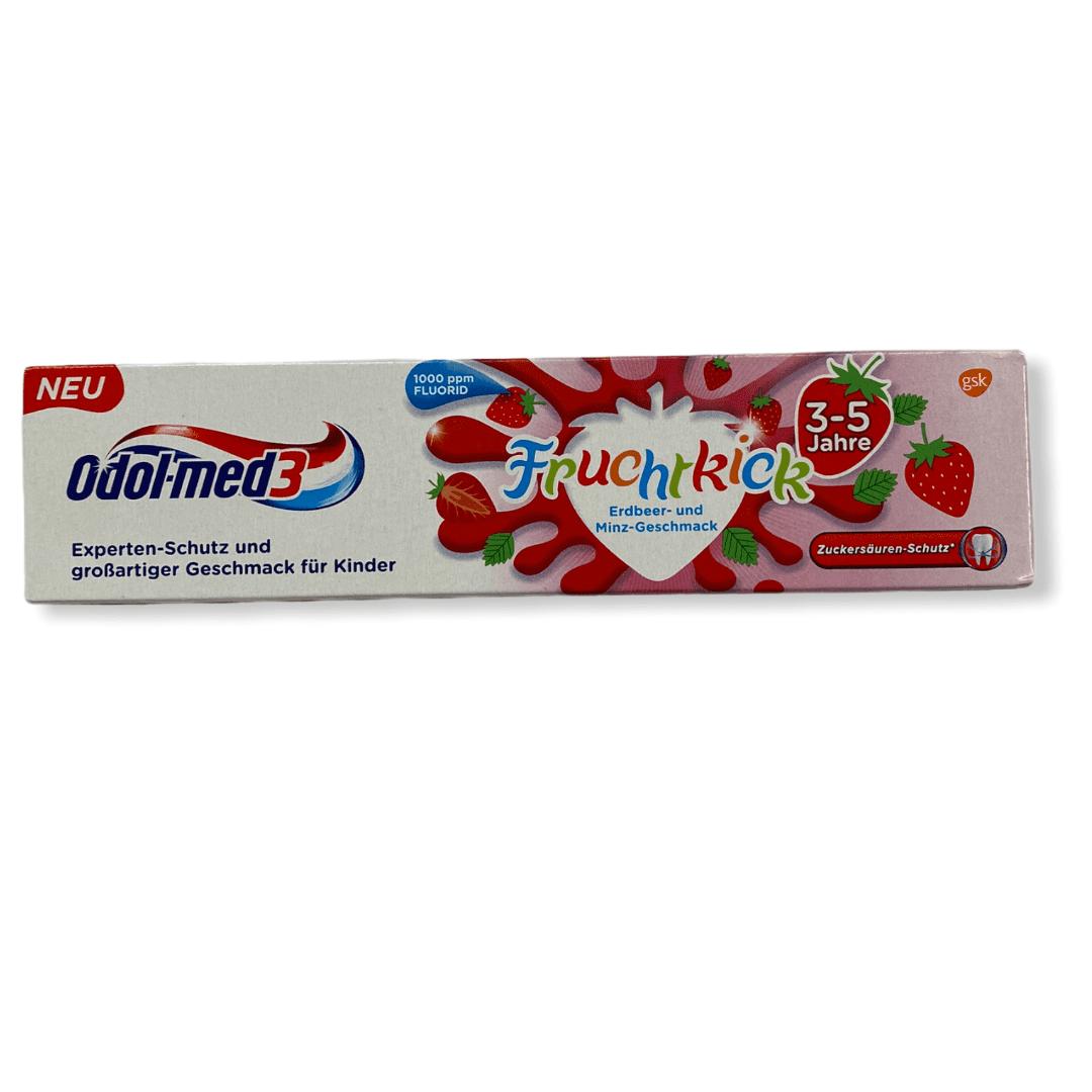 Odol-Med 3 Zahncreme/Zahnpasta - Fruchtkick - 3 - 5 Jahre - 50 ml