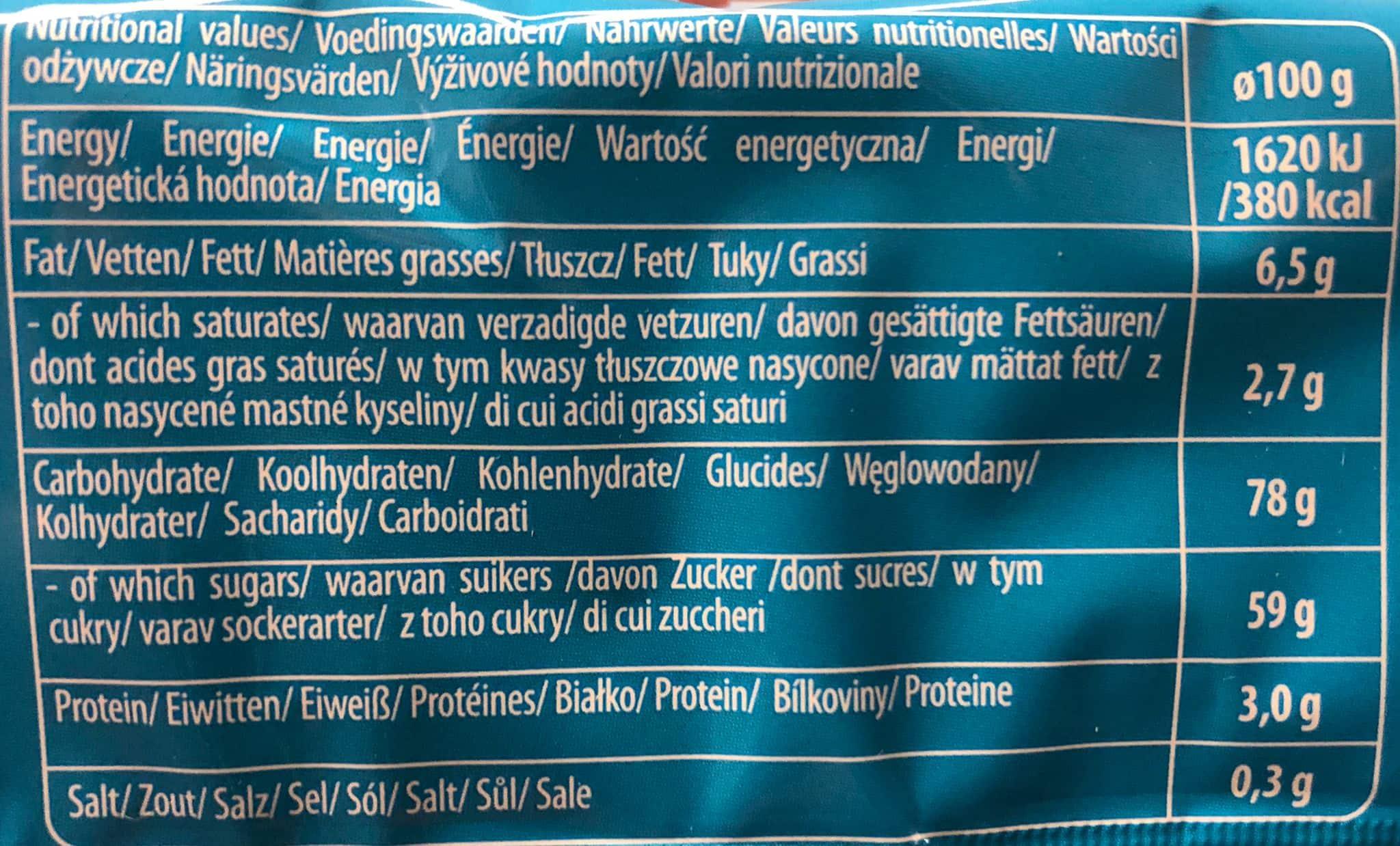 Cravingz Flurries Choco Marshmallow Keks mit Schokostreusel 240g