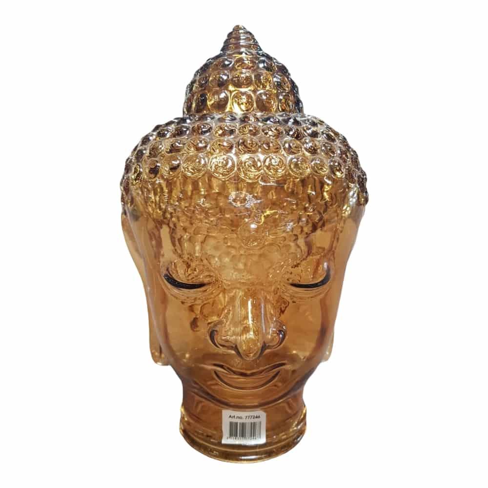 Glas-Buddha