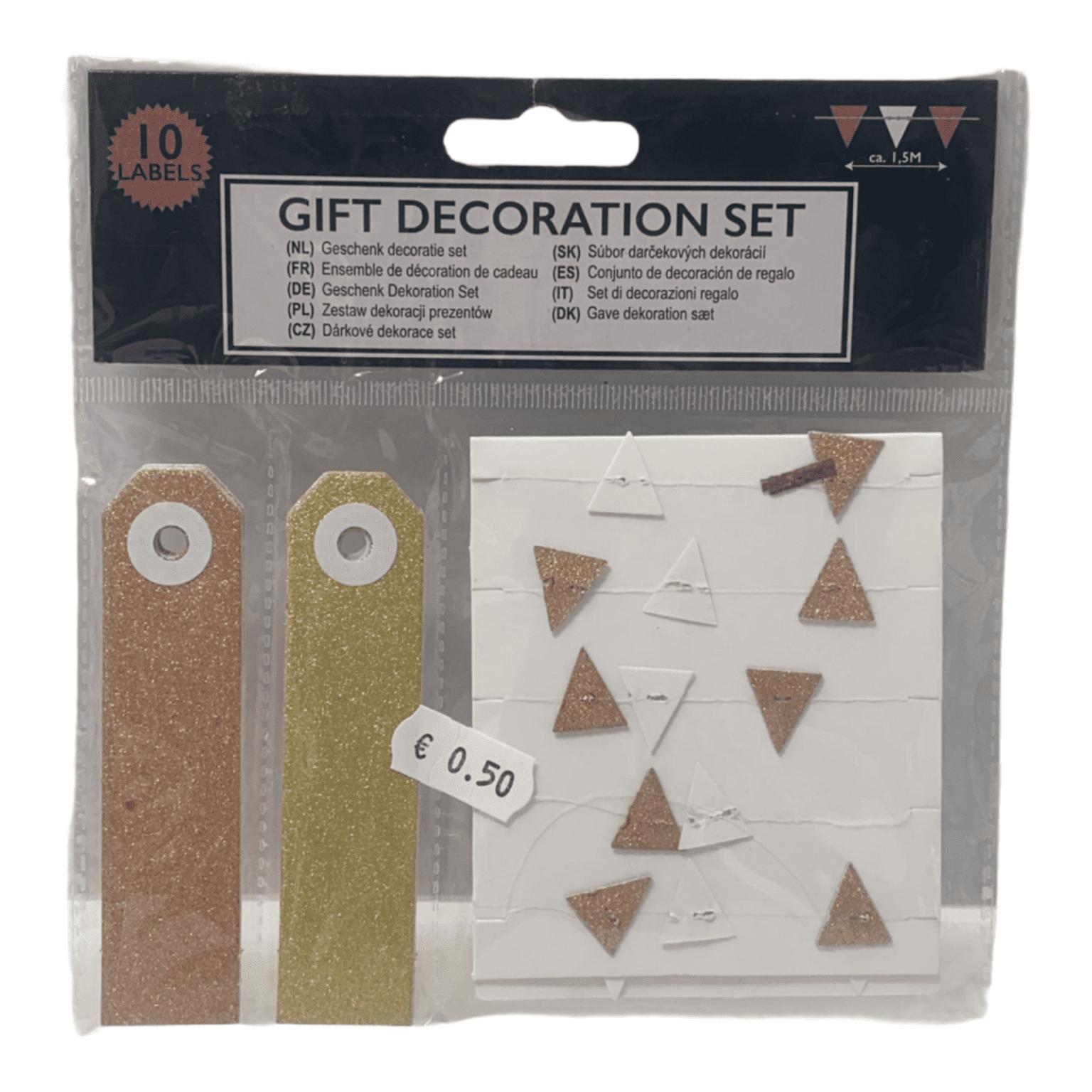 11er-Set Geschenk-Dekorations-Set