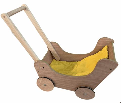 Holzpuppenwagen